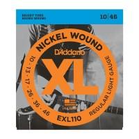 D'addario EXL-110 Regular Light Струны для электрогитары