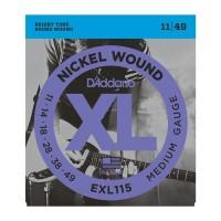 D'ADDARIO EXL-115 Blues/Jazz rock Струны для электрогитары