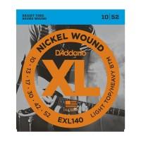 D'ADDARIO EXL-140 Light Top/Heavy Bottom Струны для электрогитары