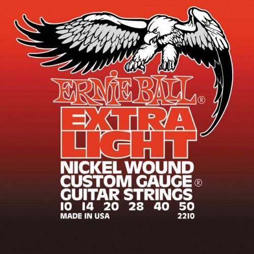 ERNIE BALL 2210 Extra Light Струны для электрогитары